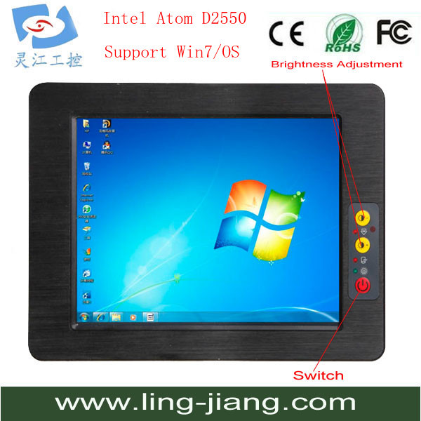 latest computer models mini pc 17 inch industrial panel pc 17  all in one pc touch screen computer monitor all in one fanless 10 4 inch wall mount touch screen mini industrial panel pc with lcd display