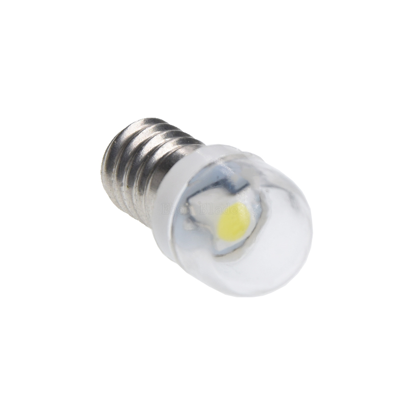Image 4 - 1/2/4 Pcs New Rushed Lamp 2835 Smd 1 Led Bulb Dc 6v Volt White Mes E10 1447 Screw For Torch Bike Bicycle Free Shipping-in Car Headlight Bulbs(LED) from Automobiles & Motorcycles