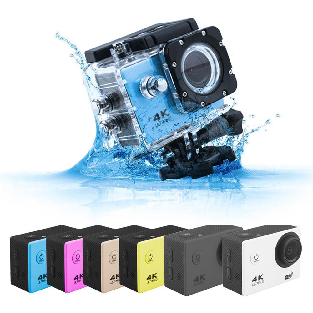 Sport & Action-videokamera Gewidmet Cujmh H9 Wasserdichte Kamera Ultra 720/25fps Wifi 2,0 170d Unterwasser Wasserdichte Helm Video Aufnahme Kameras Sport Cam