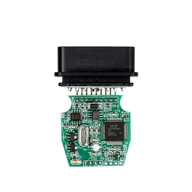 MINI VCI V14.10.028 for TOYOTA Single Cable Support for Toyota TIS OEM Diagnostic Software High performance with ARM CPU inside