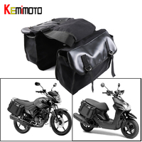 Motorcycle Saddlebag For Sportster 883XL 1200 Cruiser Motorcycle luggage bag Travel Knight Rider For Touring bag For Vespa