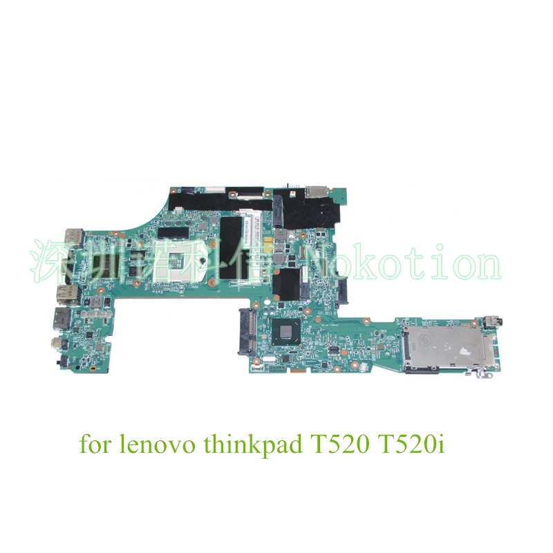 NOKOTION FRU 04W3256 for Lenovo thinkpad T520 T520i Laptop motherboard intel QM67 nvidia GeForce NVS4200M graphics nokotion fru 04w6824 for lenovo thinkpad t530 laptop motherboard nvs 5400m graphics qm77 ddr3