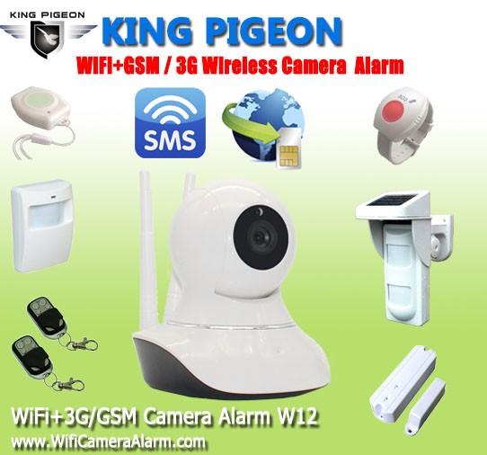 Wifi+GSM Camera Alarm W12-final