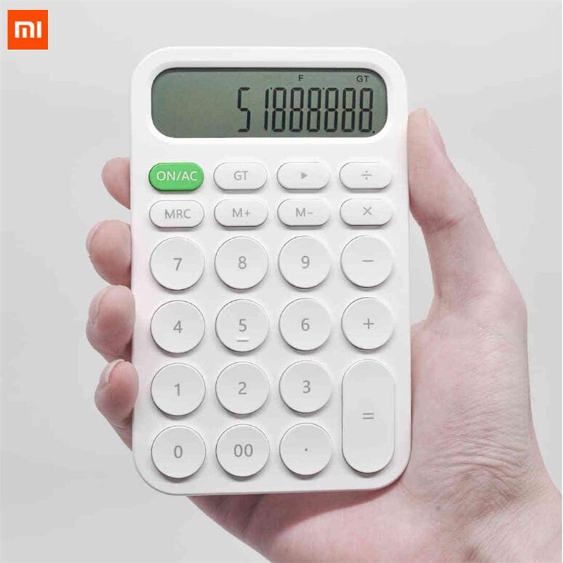 Xiaomi MIIIW 12 Digit Electronic Calculator Simple design LED Display calculation tool For Office Working Student Stationery (39)