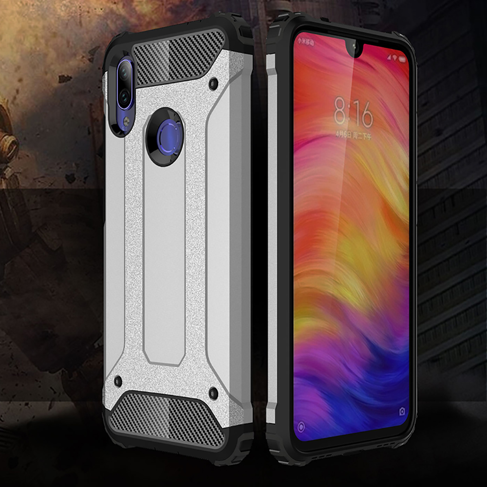 Buy Shockproof Armor Coque Cover 6.3For Xiaomi Redmi Note 7 Case For Xiaomi Redmi Note 7 Pro Note7 Phone Back Coque Cover Case for only 2.33 USD