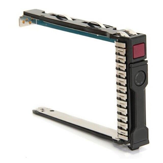 Nueva caliente 2.5 Pulgadas G8 Soporte Bandeja SAS SATA HDD Hard Disk Drive Caddy Para HP 652589-B21