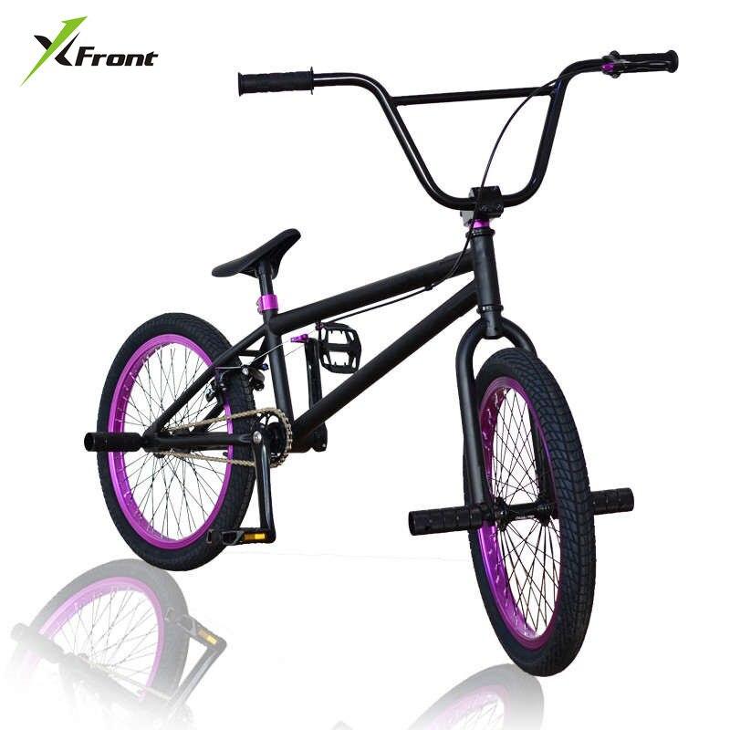 Nouvelle marque BMX vélo 20 pouces roue 52 cm cadre Performance vélo rue limite cascade action vélo