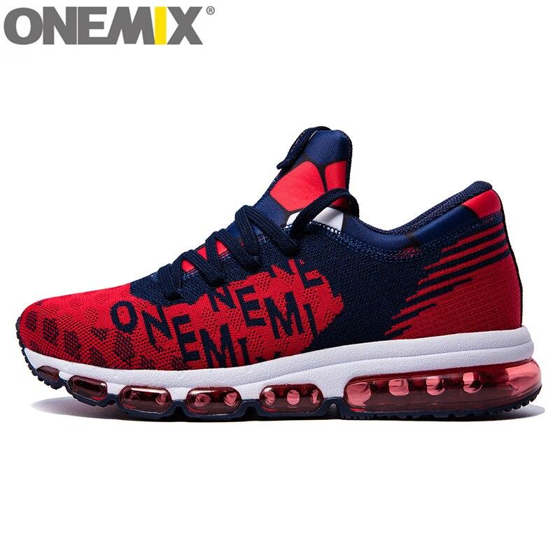 ONEMIX homme coussin d'air chaussures De course homme athlétique plein Air Sport baskets Orignial Zapatos De Hombre Max 12