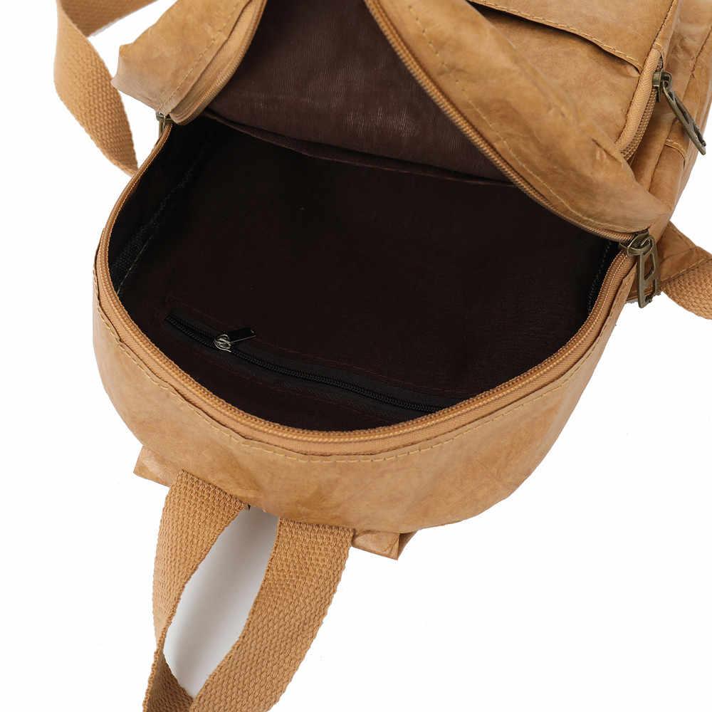 9c1fbdf4362 ... Aelicy women Backpack Vintage leather girls School Bag Ladies Backpack  Waterproof Travel Bags mochila feminina dropshipping