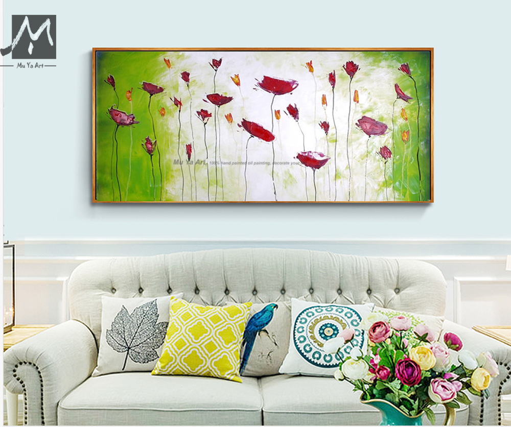 Buy large decorative cheap wall art for Large colorful wall art