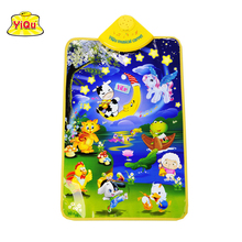Free Shipping Baby Animal Musical Touch Play mats Singing Gym Carpet Toy Gift dance floor mat