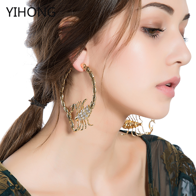 European and American jewelry earrings new fashion ...