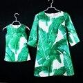 Марка семья посмотрите одежда семья соответствующие наряды девушки 1Y-16Y женщины 3XL плюс размер партии праздничное платье мать и дочь платья