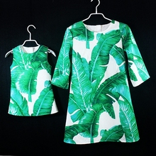 Brand family look clothes family matching outfits girls 1Y-16Y women 3XL plus size party holiday dress mom and daughter dresses