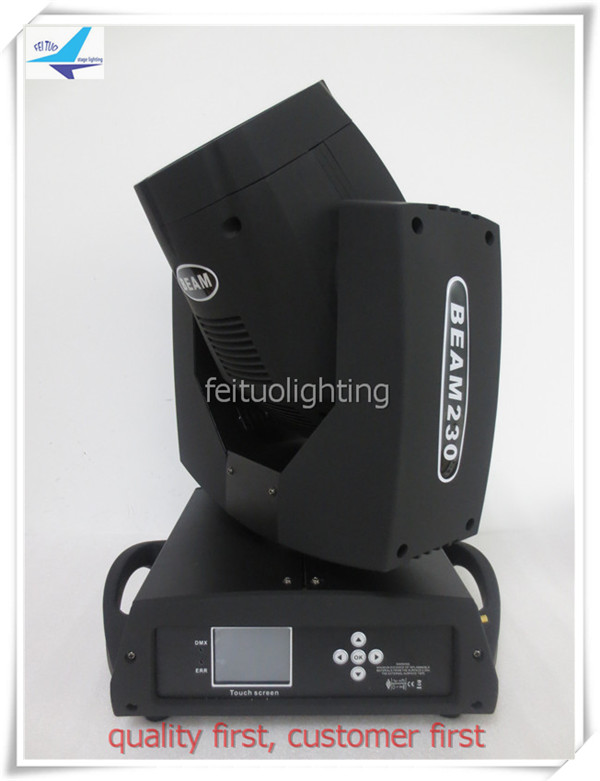 T- 6/lot 24 prism Sharpy Beam 230W Beam 7R Moving Head Touch and press screen dj ktv moving head light