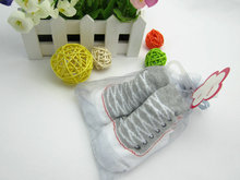 2 pairs / lot New Fashion Baby Socks Lovely Soft Newborn Toddler Infant Girls Boys 0~24 Month Anti-skid football socks