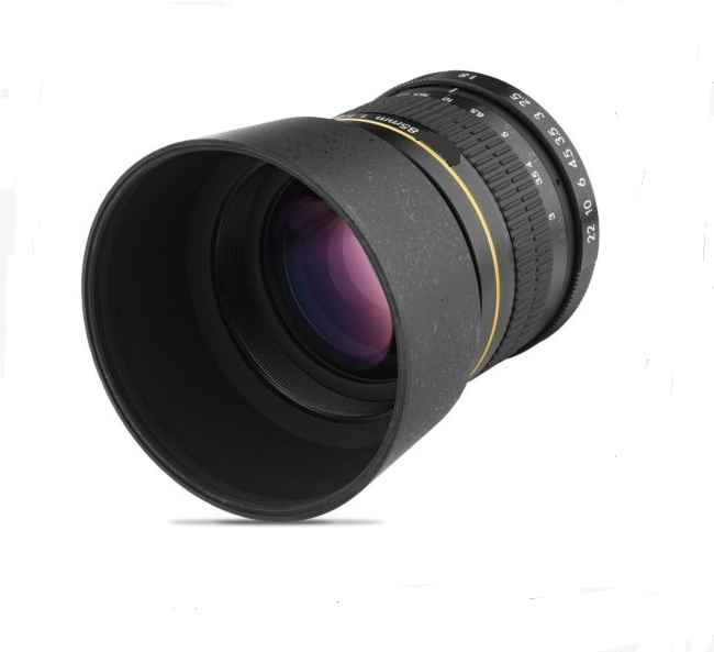 Digitalmate 85mm f/1.8 Aspherical Telephoto Lens for <font><b>Nikon</b></font> <font><b>Digital</b></font> SLR Cameras