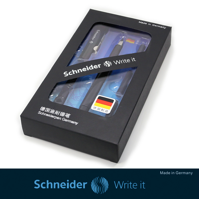 Germany Schneider BK400 Two-way Ink Fountain Pen Gel pen Signature Pen Ink Cartridge Office School Stationery Iraurita Pen Gift schneider 6pcs supplementary ink pen ink sac ink ink gall bladder boxed portable recycle