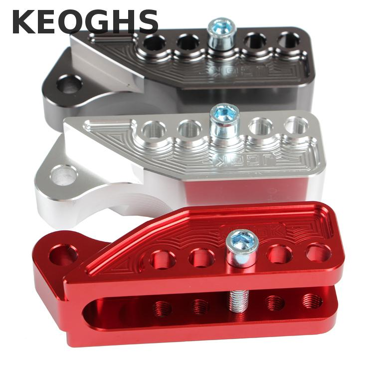 Keoghs Motorcycle Rear Shock Absorber Heighten Shift Part Cnc Aluminum Alloy For Honda Yamaha Kawasaki Suzuki Modify keoghs real adelin 260mm floating brake disc high quality for yamaha scooter cygnus modify