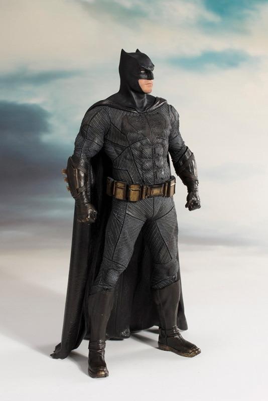ARTFX + STATUE Justice League Batman 1/10 Scale DC Super Hero Bat Man Figure Collectible Model Toy 18cm