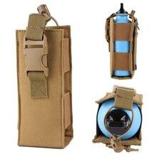 Чехол для бутылки воды 600D нейлон тактический Molle военный чехол для фляги кобура Открытый путешествия чайник сумка