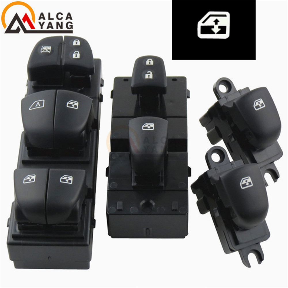 Image 3 - 1 Set/4PCS Red / White / Ice Blue Light For Nissan Qashqai/Altima/Sylphy/Tiida/X Trail Power Window Switch/Single Window switch-in Car Switches & Relays from Automobiles & Motorcycles