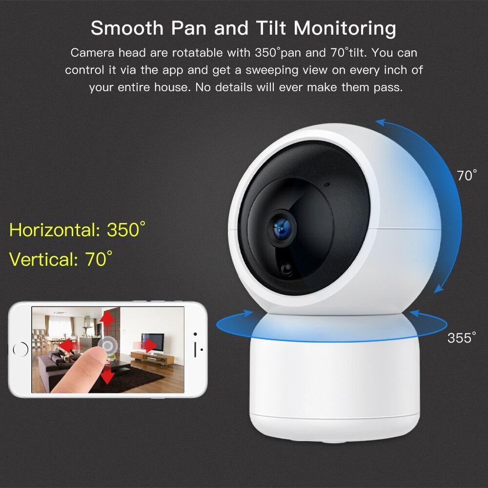 SDETER 1080P Security IP Camera WIFI 720P Wireless CCTV Camera Surveillance  Night Vision Baby Monitor Indoor Mini Camera P2P