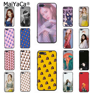 MaiYaCa Blackpink Rose Novelty Fundas Phone Case Cover for Apple iPhone 8 7 6 6S Plus X 5 5S SE 5C Cover