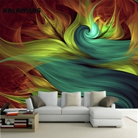 2017 Wallpaper Modern Art Painting High Quality 3d Wall Mural Living Room Tv Backdrop Colorful Abstract