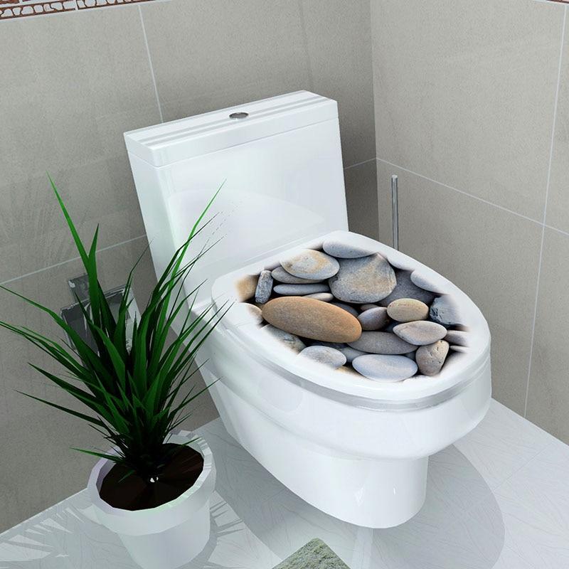 Pegatina WC Pedestal Pan Cover Pegatina WC Taburete Cómoda Pegatina - Decoración del hogar