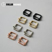 50pcs Adjusters belt buckles 3/4 Inch (20mm) DIY handbag backpack bag dog pet collar metal accessories durable hardware 4 colors