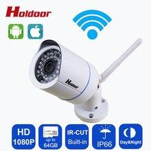 Waterproof IP66 2.0MP Wifi IP Camera 1080p HD CCTV outdoor ip cam wireless  infrared  P2P ONVIF security video wifi mini bullet