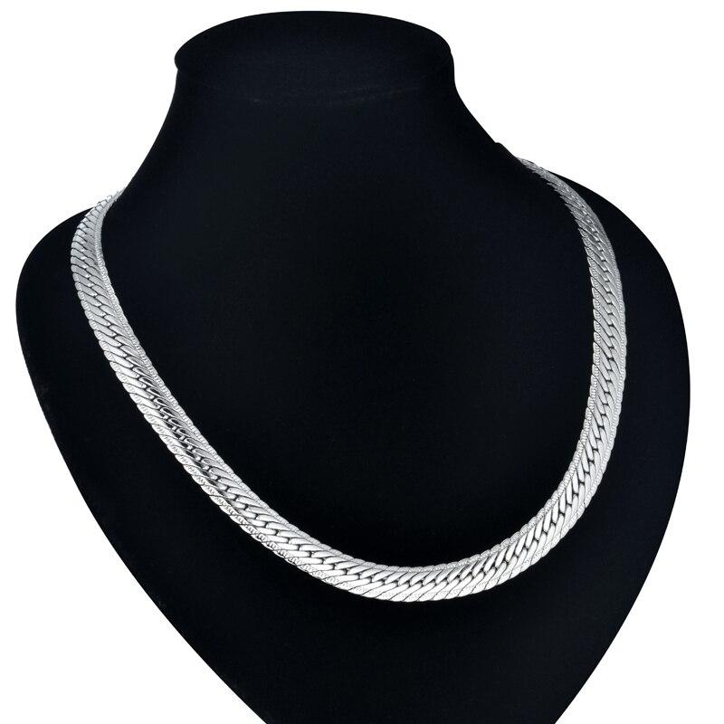 Männliche Hiphop-starke Goldketten-Verbindungs-Halskette, - Modeschmuck - Foto 5