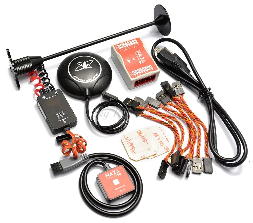 S500 500mm/F450 Quadcopter kit Telaio + Naza M Lite Flight Controller Board w/PMU LED M8M GPS + 2212 920KV motore 30A ESC-in Componenti e accessori da Giocattoli e hobby su  Gruppo 2