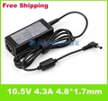10.5V 4.3A 4.8*1.7mm AC Adapter Charger For SONY Duo 11 45W VGP-AC10V8 VGP-AC10V7 Power adapter