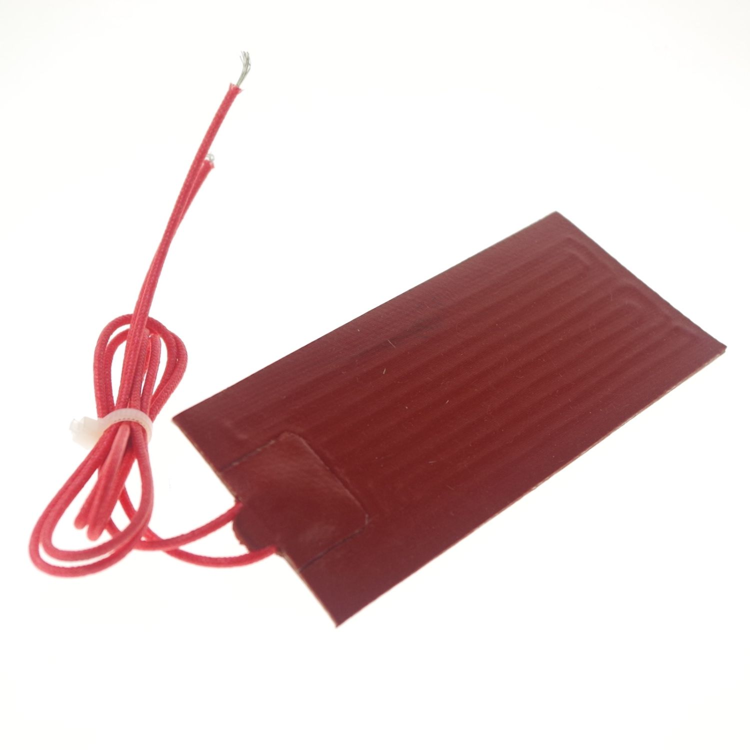 220V AC 100x150mm 50W Rectangle Flexible Waterproof Silicon Heater Pad For Oil Tank Electrical Wires 15x1000mm 75w 200 240v silicon heater strip belt for air conditioner compressor crankcase turbine electrical wires