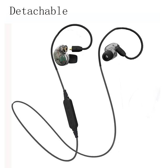 새로운 분리 블루투스 이어폰 헤드폰 스포츠 무선 및 유선 헤드폰 스테레오 소음 감소 슈퍼베이스 헤드셋