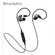 NOUVELLE Arrivée Détachable Bluetooth Écouteur Casque Sport Sans Fil Casque Stéréo Réduction Du Bruit Super Bass Casque Pour téléphone