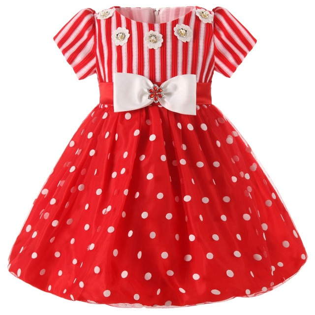 Christmas Newborn Baby Princess Dresses Ball Gown first Birthday Gift Girls Infant Dress Girl Clothes Kids Tutu Dress