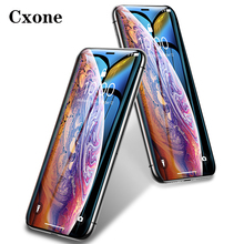 Cxone 0.3mm Full Coverage Tempered Glass For iPhone Xs Xs Max XR 2018 Screen Protector Thin Protective Glass For iPhone X Xs XR
