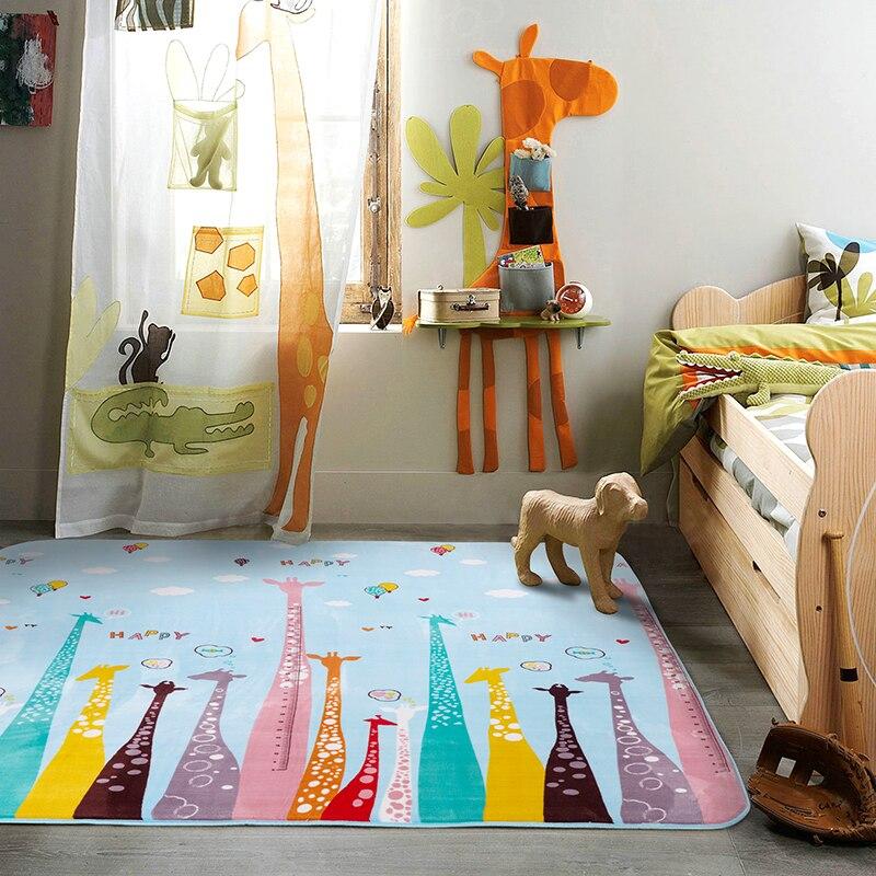 В маленькие дети восхождение площадку мультфильмы ползать коврики гостиной чайный столик Ковры