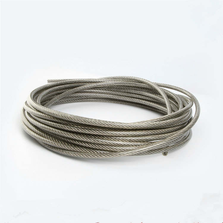 China supplier 6mm thick thin flexible stainless steel 304 wire rope ...