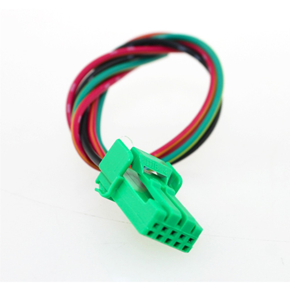 IZTOSS Blue LED 5pin LED OFF Lights Push Switch with Connector Wire for New Style Toyota