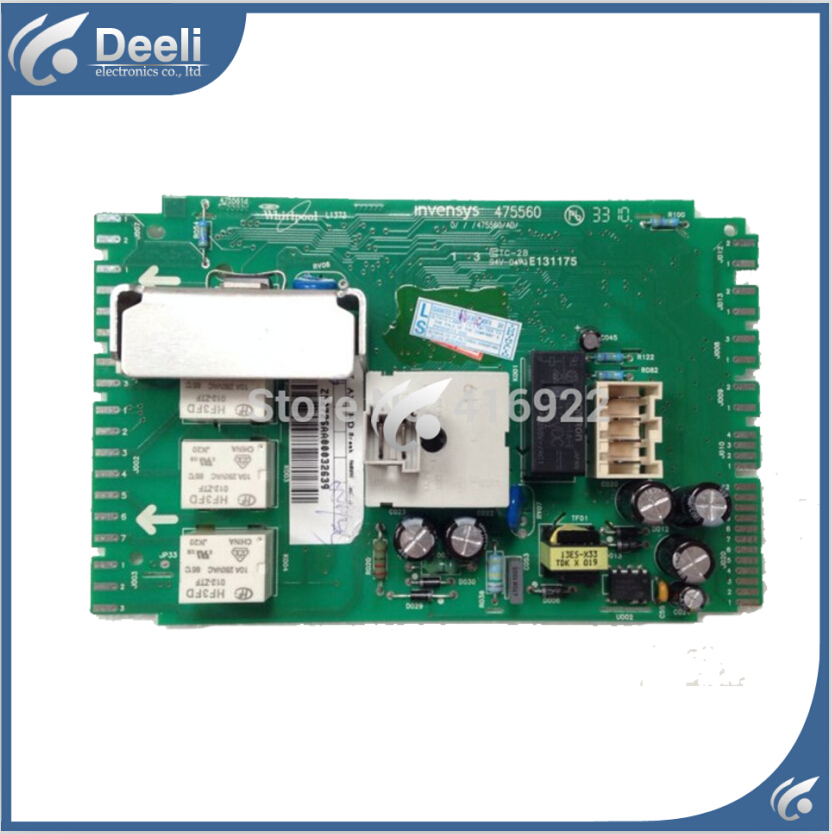 Free shipping 100% tested for washing machine board Computer board XQG65-1228S motherboard W10282697 / W10358402 Z52725AA 100% tested for washing machine board wd n80051 6871en1015d 6870ec9099a 1 motherboard used board