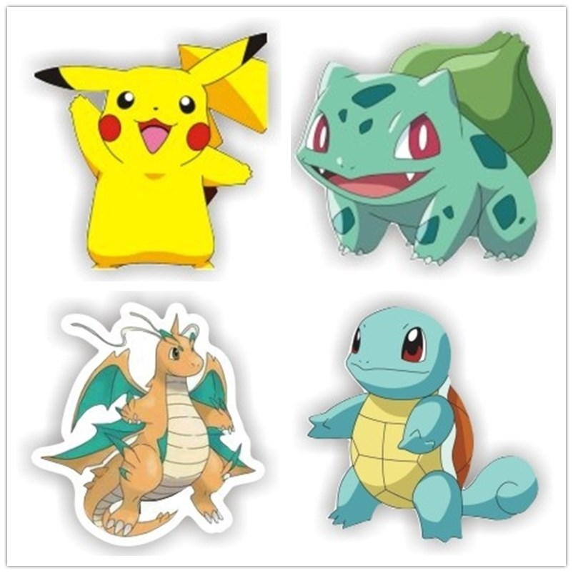 1 PCS Cartoon Badge Icons On The Pin Acrylic Badges Badges For Clothing Pokemon Brooches Jewelry Gift