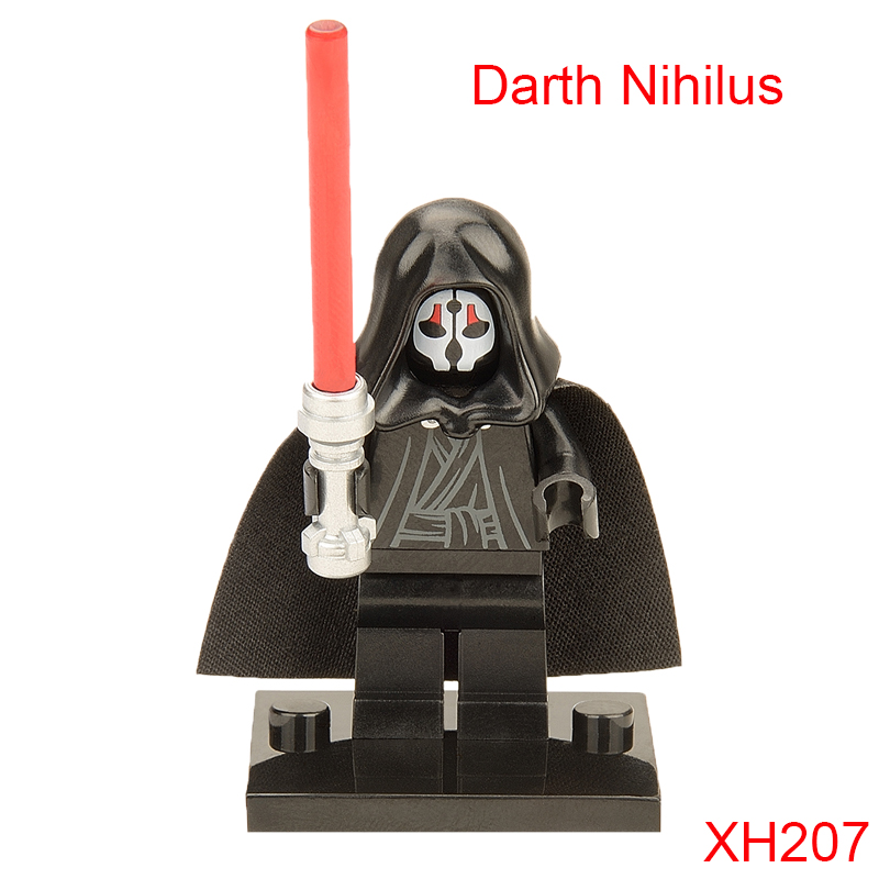 Darth Nihilus With Lightsaber Star Wars: Knights Of The Old Republic Darth Vader Building Block For Children Xh207