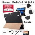 """Для Huawei MediaPad 10 Link +/Ссылка/FHD дермы кожаный чехол S10-233L/S10-201U/W/S10-231U/W tablet PC 10.1 """"смарт обложка"""