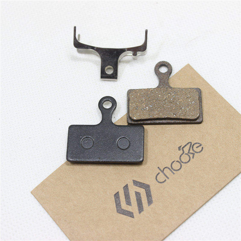 CHOOSE Semi Metal Brake Pads For SHIMANO XT BR M8000 SLX M7000 BR M9000 Disc Brake Pad 2 Pair lot in Bicycle Brake from Sports Entertainment