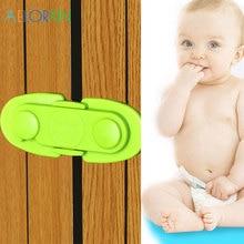 1Pcs Baby Safety Lock Door Drawer Lock Cabinets Door Baby Cupboard Cabinet Lock Baby Care Protection Of Children Jamming
