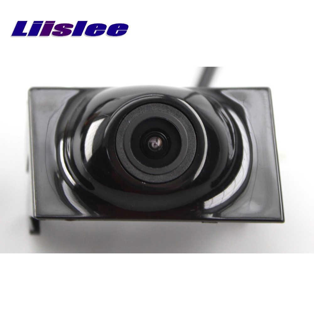 Przednia kamera LiisLee dla mercedes-benz e-class W212 2009-2016 10 11 12 13 przedni grill CAM DIY ręczne sterowanie przednią kamerą